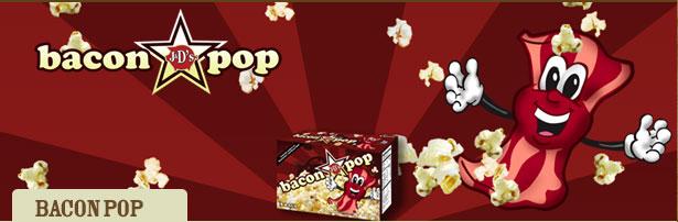 When Popcorn met Bacon:  A Taste Sensation