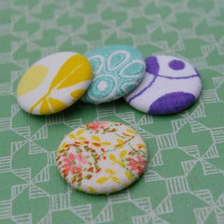 Etsy - multi colour badges