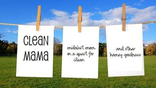 Clean mama banner
