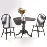 Round+42%22+Dual+Drop+Leaf+Dining+Table+(Black)