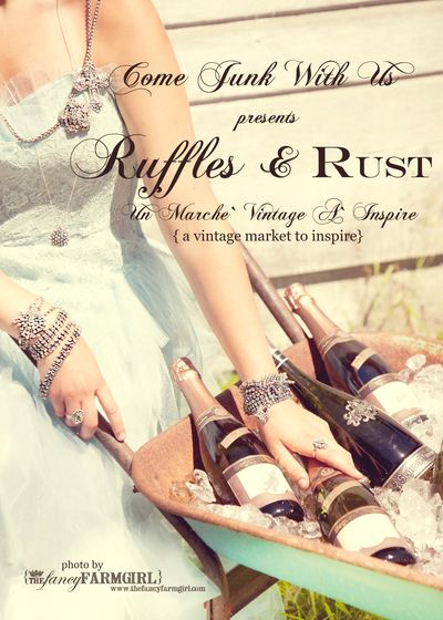 Ruffles and Rust Event Tomorrow