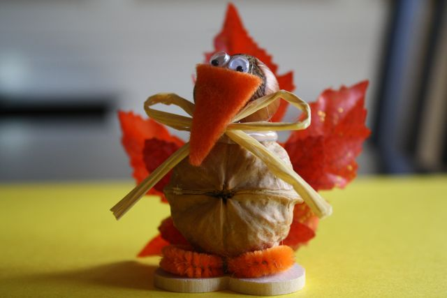Craft Turkey - Yesterday on Tuesday #thanksgiving
