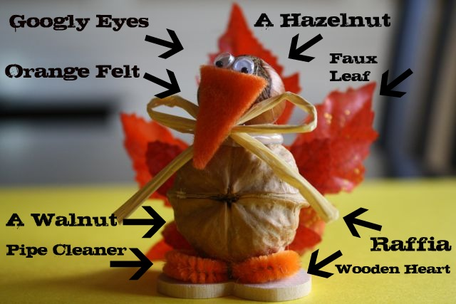 Craft Turkey - Yesterday on Tuesday #thanksgiving