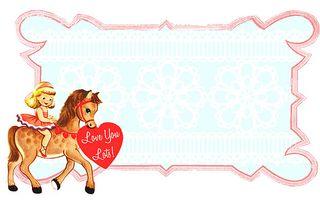 Valentines horsie
