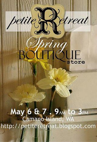 PR Spring postcard