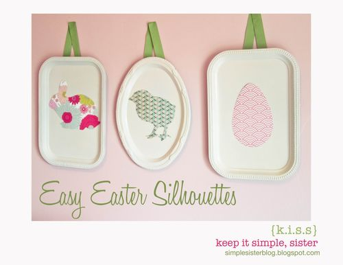 EasyEasterSilhouettes