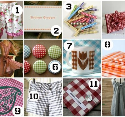 Trendspotting: Gingham