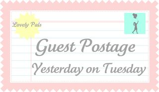 Guest Postage: Two Shades of Pink