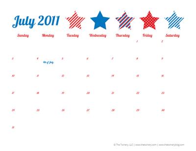 July Cal