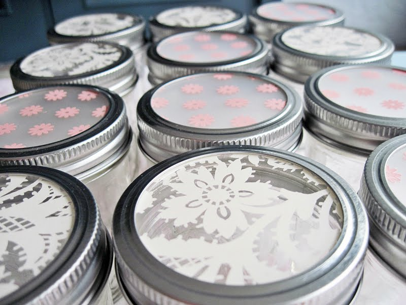 Plastic Mason Jar Lids