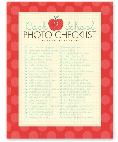 Photochecklist