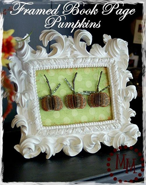 Book page pumpkin 1