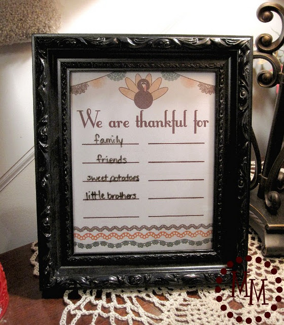 Thankful Printable 1
