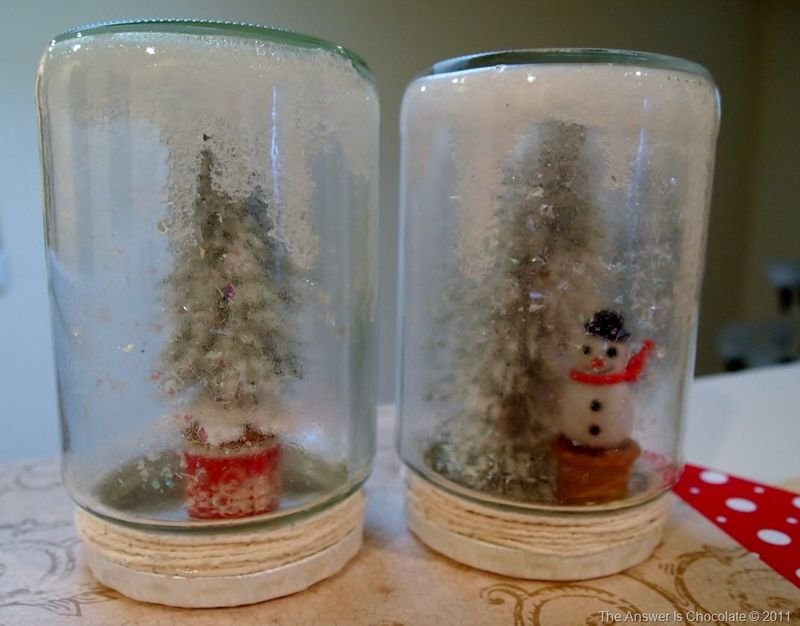 Tree and Snowman Jars[8]