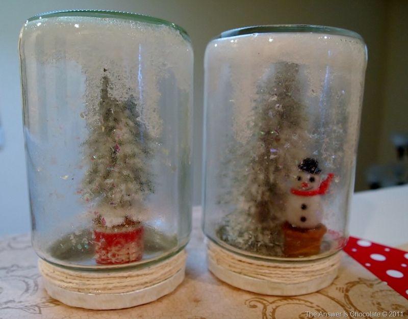 Tree and Snowman Jars[8]