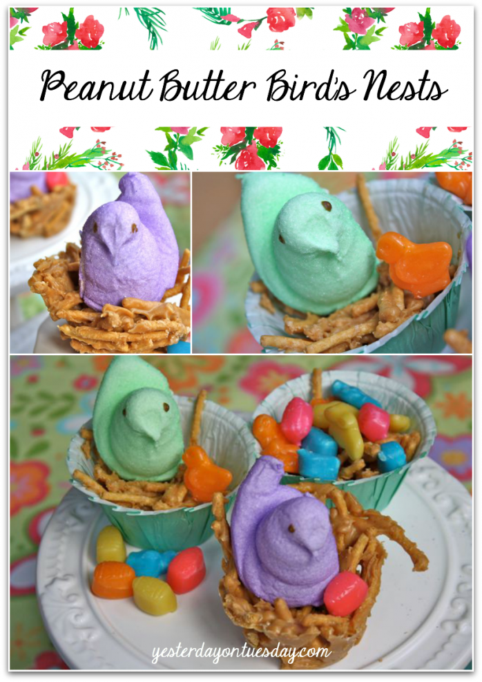 Peanut Butter Bird's Nests Recipe