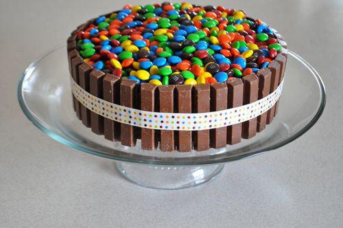 Mnm-cake