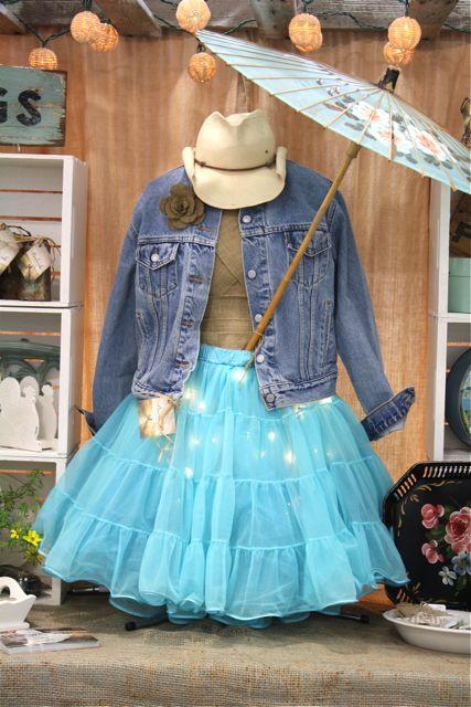 Crinoline-skirt