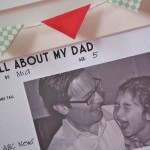 All About My Dad Free Printable