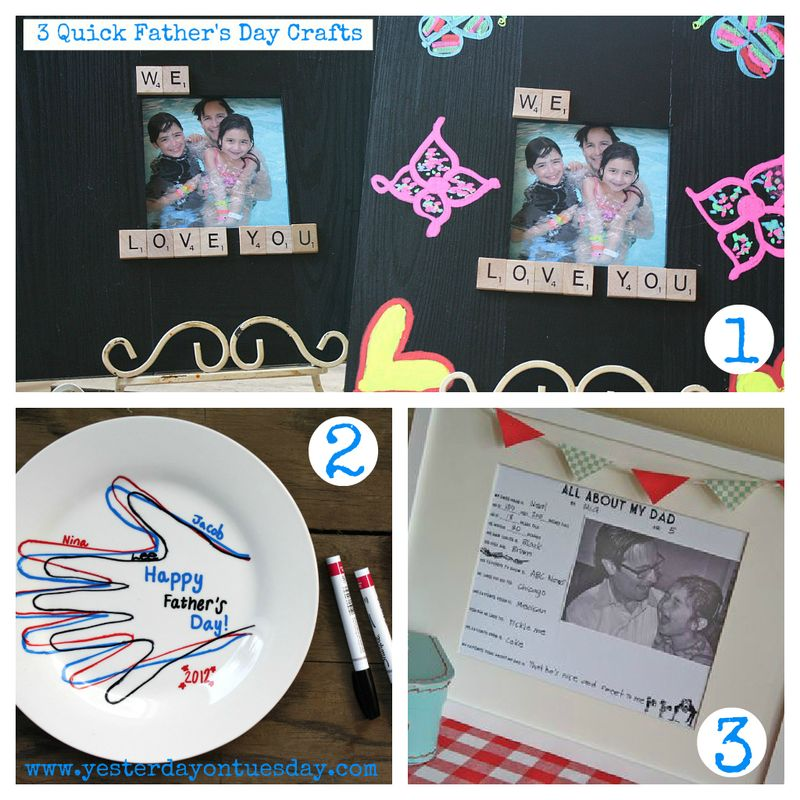 3Father'sDayCrafts