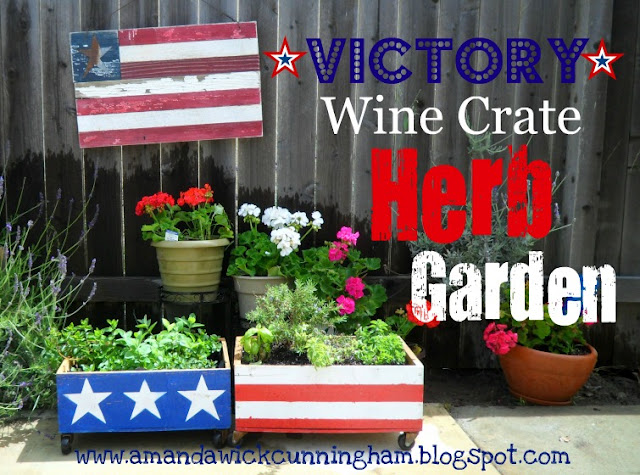 Victory wine craft herb garden