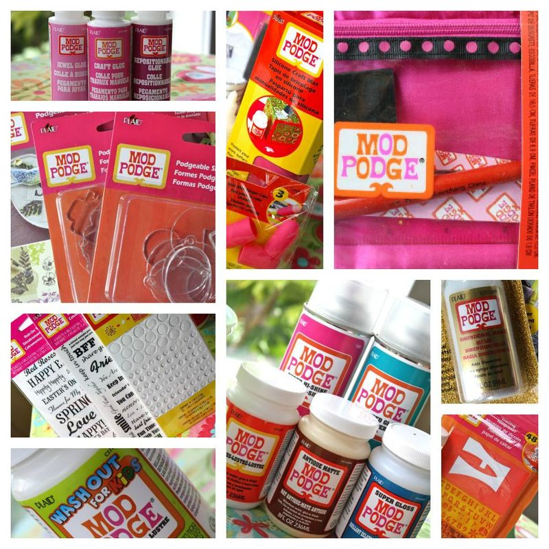 Mod Podge Product Collage