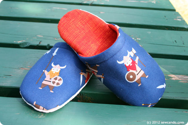 Viking Slippers