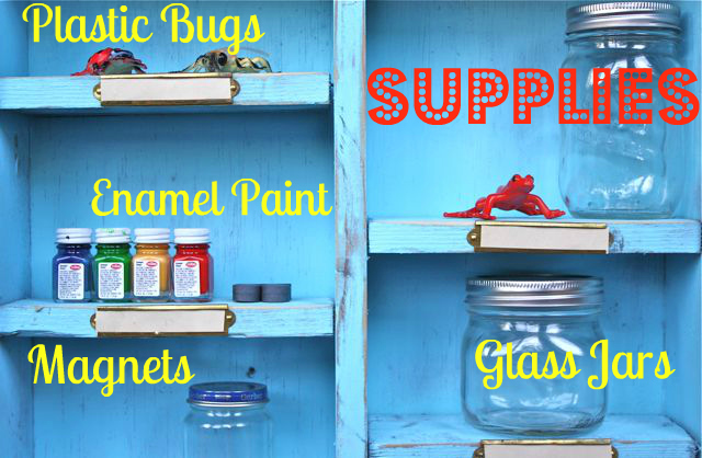 Supplies Magnetic Bug Jars-Yesterday on Tuesday