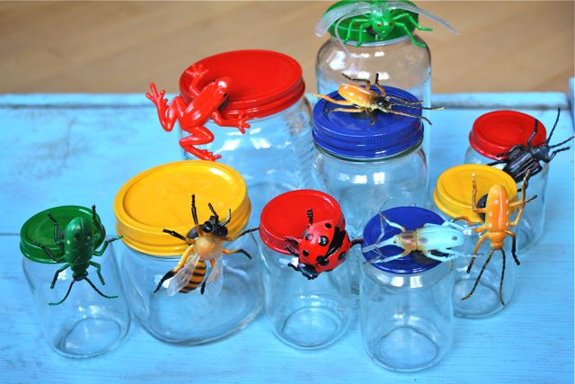 Finished Jars Magnetic Bug Jars for Storage - Yesterday on Tuesday