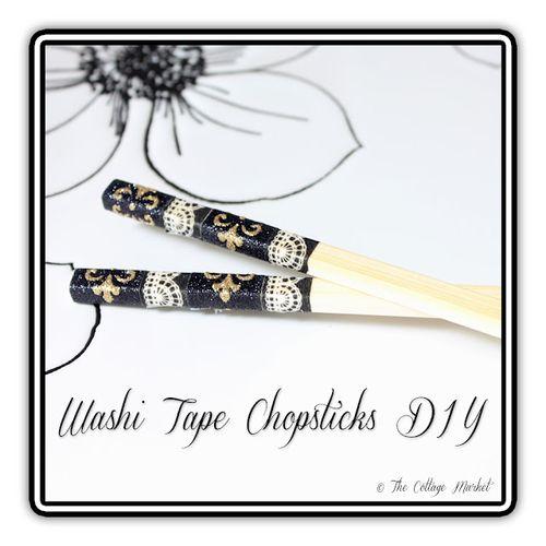 Washi tape chopsticks