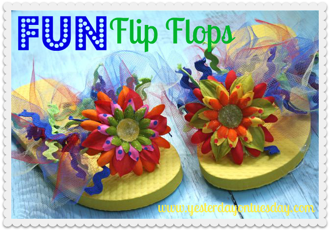 Title Fun Flip-Flops-Yesterday on Tuesday