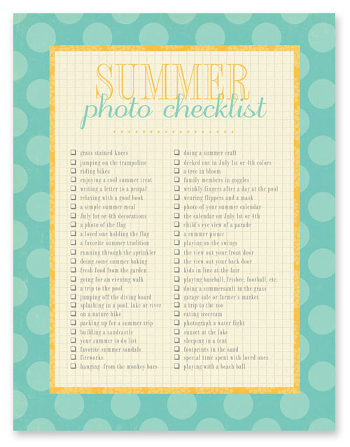 Summerphotochecklist-simple as that