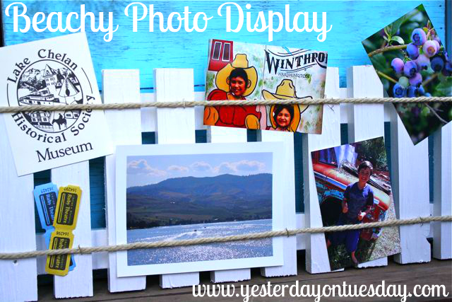 Beachy Photo Display - Yesterday on Tuesday