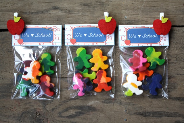 Cute Crayon Packages - Yesterday on Tuesday