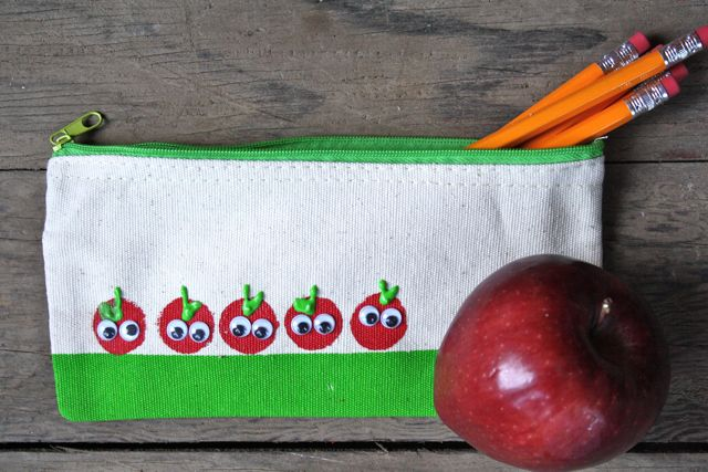 Little Googly Eyed Apples - Yesterday on Tuesday