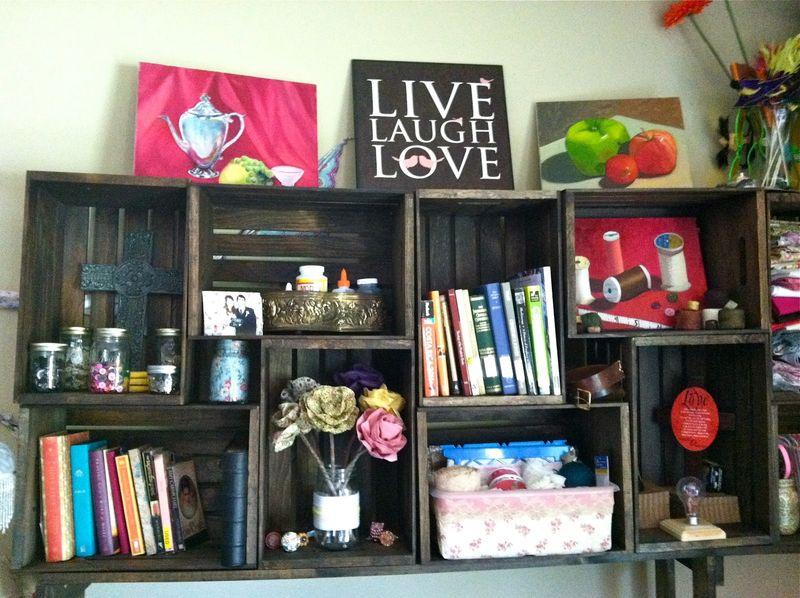DIY Bookshelf - Saleena Marie