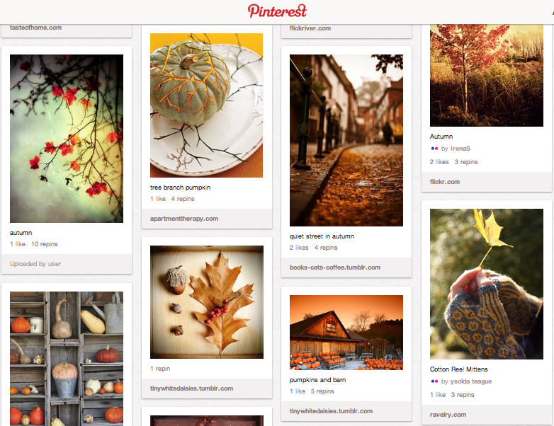 Autumn love board