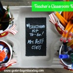 Teacher's Classroom Kit To Go