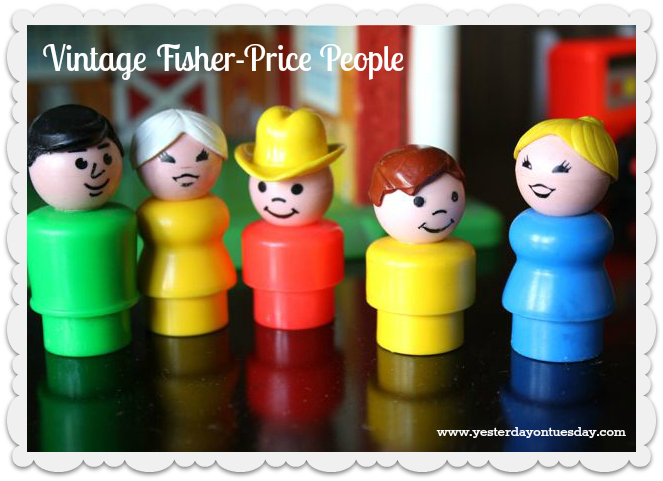 Fisher Price People - Yesterday on Tuesday