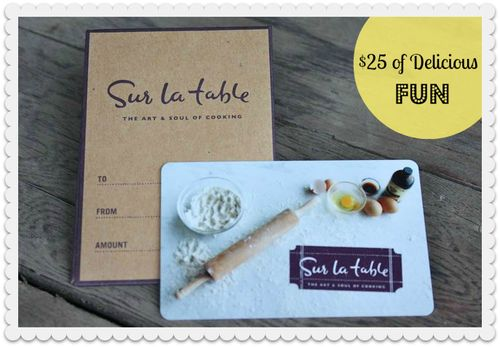 Crafty Soiree #108: Sur La Table + Jessie Steele Apron Giveaway