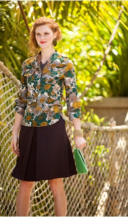 Zoology blouse