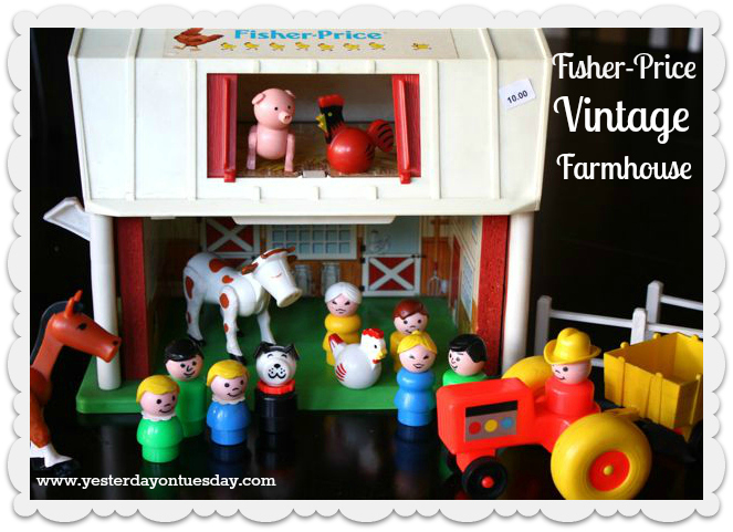 Vintage Finds: Fisher Price Farmhouse