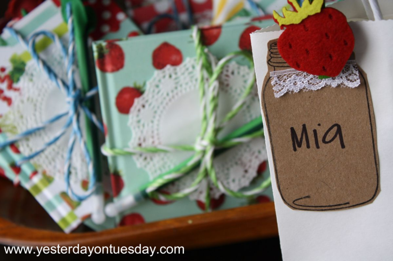 Mason Jar Tags - Yesterday on Tuesday #masonjars #masonjarstamp