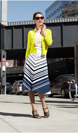 Crosswalk Skirt
