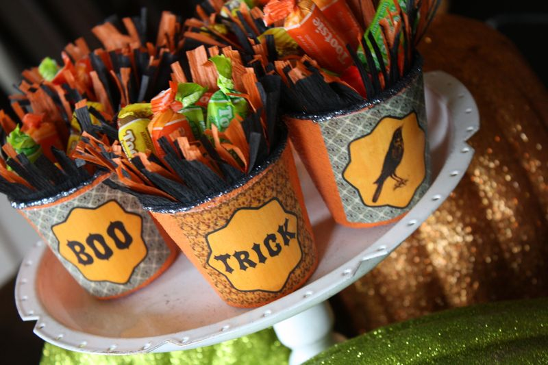 Free Halloween Treat Cup Printables - Yesterday on Tuesday