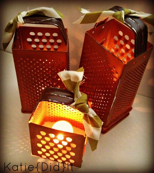 Cheese Grater Pumpkins