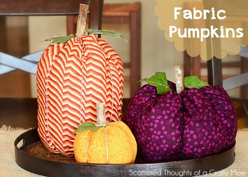 Fabric-pumkins