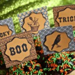 Vintage Halloween Party Printables