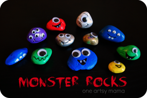 Monsterrockspinnable
