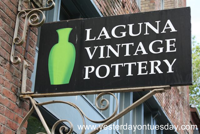 Laguna Vintage Pottery - Yesterday on Tuesday